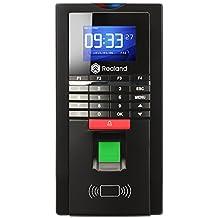 Huellas dactilares tiempo reloj, Realand biométricos Control de acceso RFID lector de asistencia Tarjeta