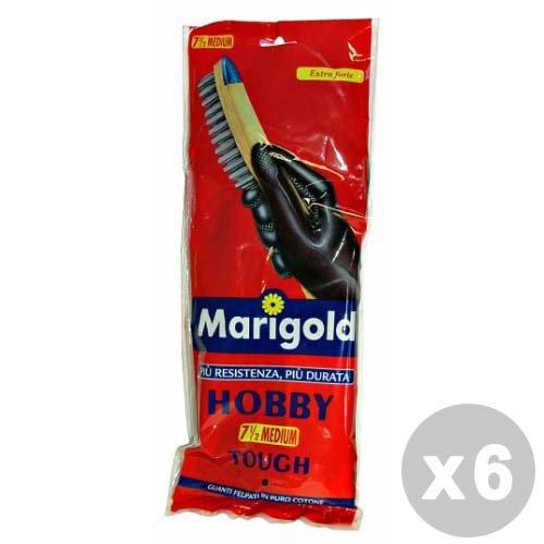 guanti marigold MARIGOLD Set 6 Guanti Hobby Taglia M - Guanti