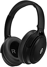 TaoTronics Active Noise Cancelling Bluetooth Headphones HiFi Stereo Wireless Over Ear Deep Bass Headset w/cVc