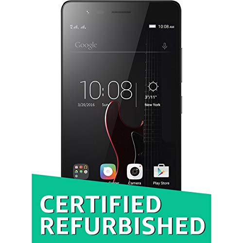 (Certified Refurbished) Lenovo Vibe K5 Note A6020A40 (Grey, 32GB, 4GB)