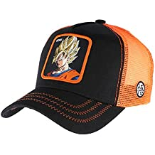 Collabs Gorra Dragon Ball Z Goku Trucker Negro (Talla única para Todos sexos) …