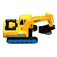 beautijiam Simulation Excavator Model Car, Engineering Construction Vehicles Model Car Children Kids Educational Toy Gift