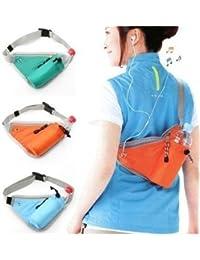 Emndr Outdoor Travel Waist Bottle Holder Bag Men Women Sports Kettle Waist Pack Fanny Pack Chest Belt Bag