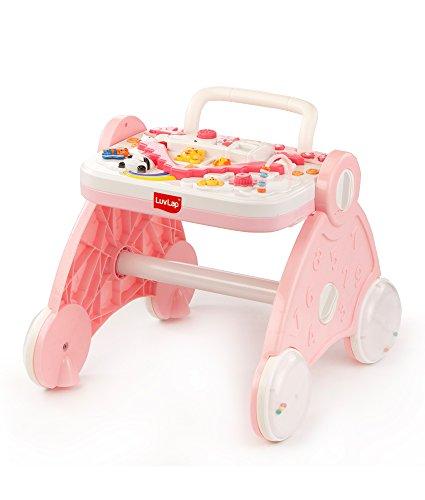 Luvlap Baby Musical Activity Walker (Pink)
