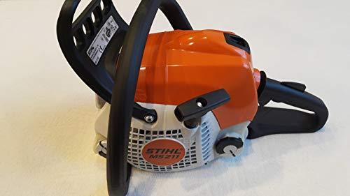 Stihl Kettensäge / Motorsäge MS 211 PM 3 mit 35cm Schnittlänge + 1.3mm Kette für handliche Arbeiten mit sehr guten Schnittleistungen, Stihl Motorsäge-Kettensäge