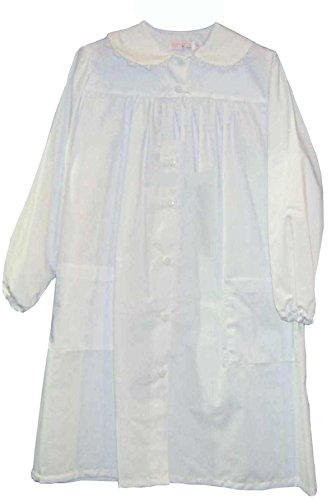 Grembiule scuola bambina ambrosino bianco irma (75)