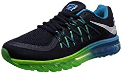 Nike Mens Air Max Black Running Shoes -7 UK/India (41 EU)(8 US)
