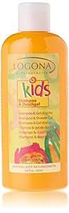 Logona - Shampoing-gel douche extra-fruité Kids - Logona