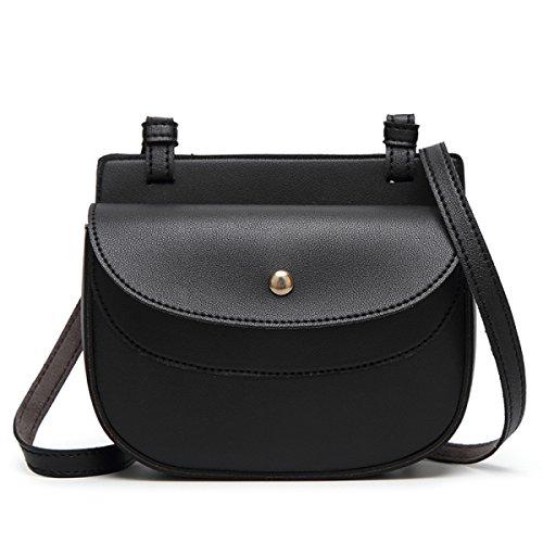 Korean Modekette Umhängetasche,Brown Black