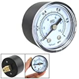 0,35 'mâle systèmes pneumatiques manomètre