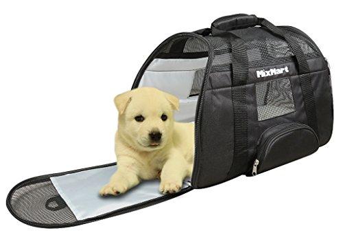 Mixmart-Trasportino-Morbido-per-Cani-e-Gatti-CucciaBorsa-da-Trasporto-Airlineauto-per-Cuccioli-Animali-Domestici