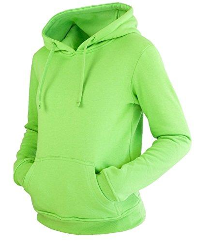 Sweat à capuche pour femme dans 11 coloris Vert - Citron vert