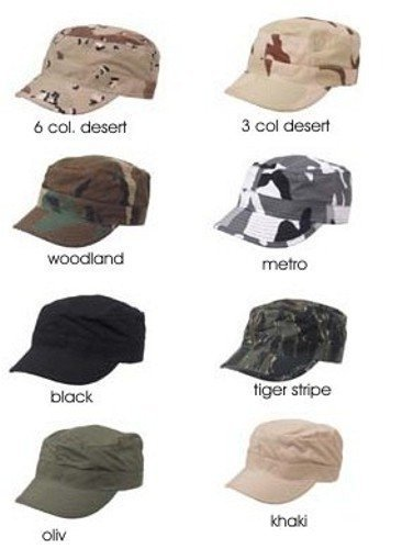 US Army BDU Feldmütze Outdoor Cappie Armee Sportcappie Mütze Kappe in verschiedenen...