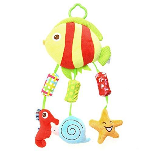 amrka Schönes Baby TA Plüsch Aufhängen Glocken Windspiel Rassel Weiterbildung von Kinderspielzeug