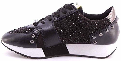 Liu Jo Damen Running Aura Sneakers Schwarz