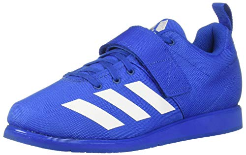 adidas - Powerlift 4 Hombre, Azul (Azul/Blanco/Azul), 50 EU M
