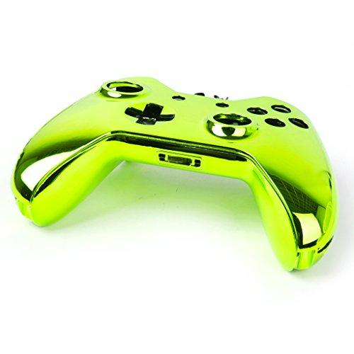 Generic Metall Ersatz Voll Gehäuse Schale Hülse Cover Passend für Xbox One Controller Kontroller - Grün