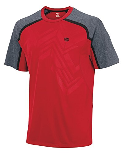 Wilson Ashland Emboss T Shirt Pour Homme Col Rond