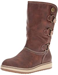 White Mountain Dover Wide Calf Synthétique Botte