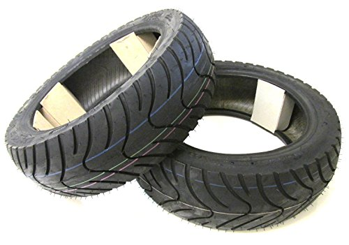 KENDA K413 Roller Reifen Set Satz - Vorne + Hinten 120/70-12 + 130/70-12 Speedfight 1 2 AC LC
