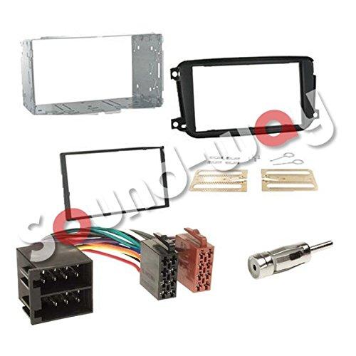 kit-montaggio-mascherina-adattatore-connettore-autoradio-2-din-smart-car-fortwo-dal-2010