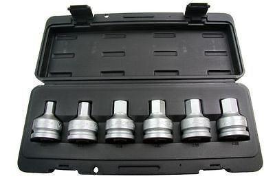 US PRO 63/10,2cm DR Hex Bit Sockets 14–23mm B1234 - Dr 19mm Hex Bit