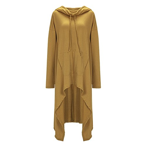 MTTROLI Damen Sweatshirt Gelb