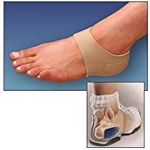 Patented Plantar Fasciitis Heel Hugger with Magnet Therapy for Heel Pain, Small by Brownmed