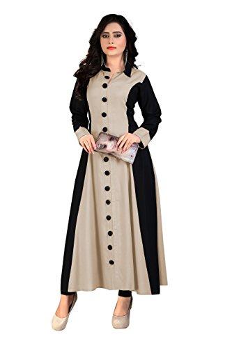 MT Women's Rayon Party Wear Long Kurti (MT-114 l_Dusty_large)