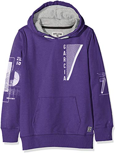 Garcia Kids Jungen Kapuzenpullover X83660, Violett (Grape 2668), 140/146