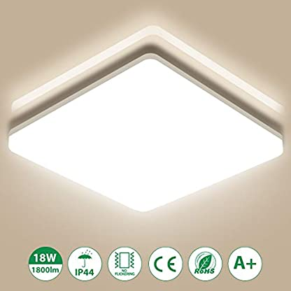 Oeegoo Plafoniera LED per bagno, LED