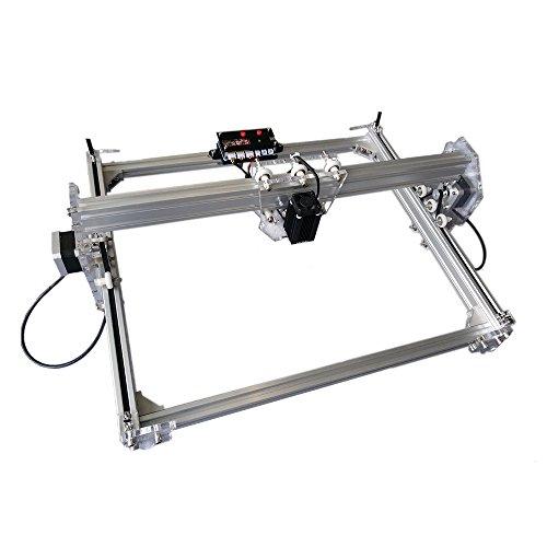 Preisvergleich Produktbild 2500MW Alulegierung Desktop DIY CNC Laser Gravierer Engraver Gravur Gravieren Schnitzen Schneiden Maschine Graviermaschine Drucker Laserdrucker A3