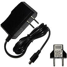 HQRP 5V Adaptador de CA / Cargador para Garmin Nuvi 300 310 350 360 370 465 465T 500 510 550 GPS