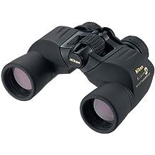 Nikon Action EX 8X40 CF - Prismáticos (8 x 40, prisma de porro, amplio campo de visión, resistentes al agua), color negro