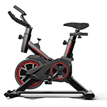 Health Inicio Bicicleta De Spinning, Bicicleta De Ejercicio Ultra Silenciosa para El Hogar, Bicicleta