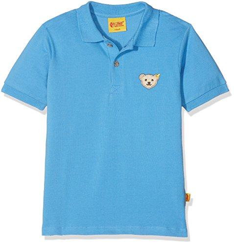 Steiff Collection Jungen Poloshirt 1/4 Arm 6833711, Blau (Lichen Blue 3191), 86