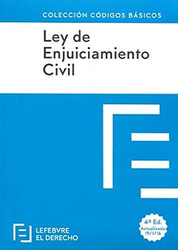 Ley de Enjuiciamiento Civil (Códigos Básicos) por Lefebvre-El Derecho