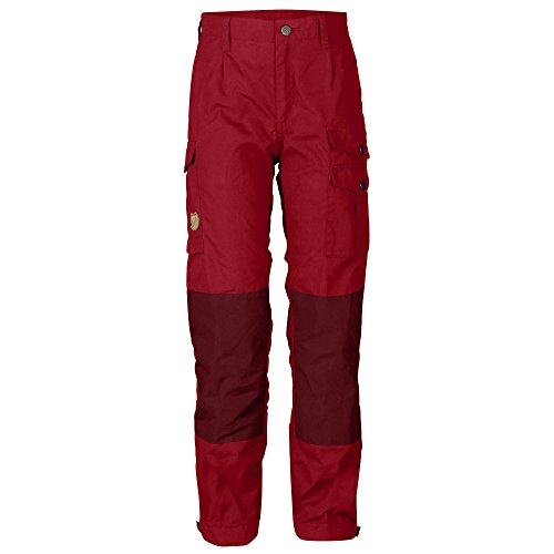 904ae26eea6a5a FJÄLLRÄVEN Kids Vidda Trousers Outdoor Hose Kinder Deep Red 152