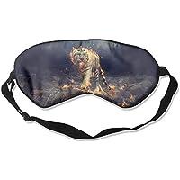 Cool Tiger With Fire Sleep Eyes Masks - Comfortable Sleeping Mask Eye Cover For Travelling Night Noon Nap Mediation... preisvergleich bei billige-tabletten.eu