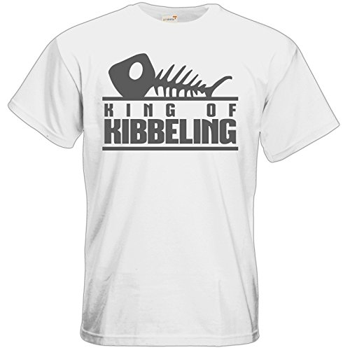 getshirts - Gronkh Official Merchandising - T-Shirt - Dead by Daylight - King of Kibbeling White