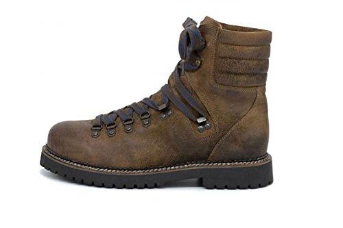 Spieth & Wensky Boots Trachtenstiefel Ludwig Nubukleder braunGr.42