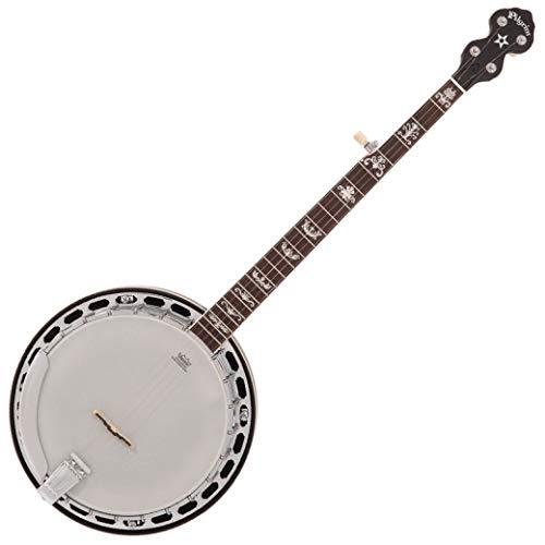 Pilgrim Banjo - Rocky Mountain 75 Resonator - Flame Maple