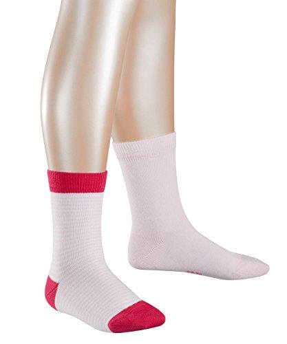 ESPRIT KIDS Mädchen Socken Ringlet Doppelpack 2er Pack, Mehrfarbig (lady Pink 8996) 31-34