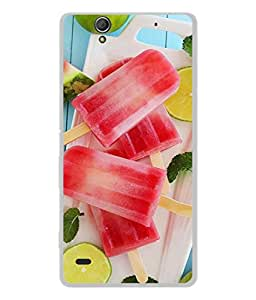 Fuson Designer Back Case Cover for Sony Xperia C4 Dual :: Sony Xperia C4 Dual E5333 E5343 E5363 (Ice Candy Juicy Childen Child School Little )