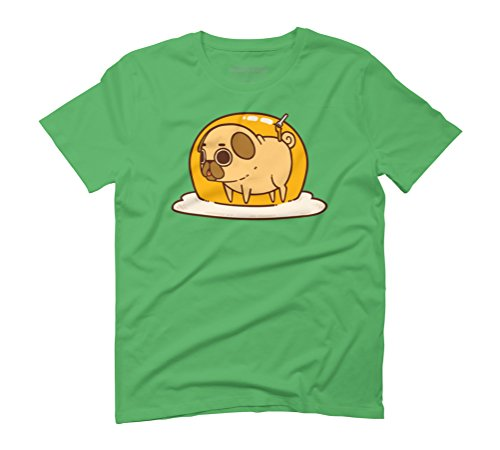 Puglie Egg Men's Graphic T-Shirt - Design By Humans Green