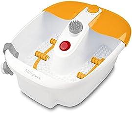Medisana FS 883 Fußsprudelbad 88387, mit Wärmefunktion, Sprudel- und Vibrationsmassage, geeignet bis Schuhgröße 46