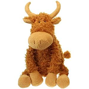 The Puppet Company - Wilberry Animals - Highland Cow Large Soft Toy