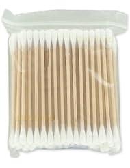 Coton tiges bois / boîte de 100