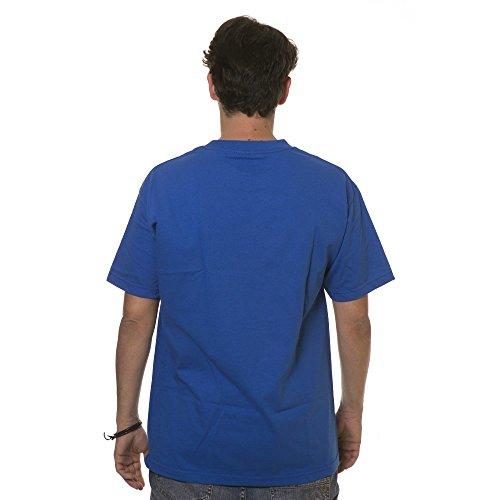 Das BOH kurzen Ärmels der Famous Stars And Straps Männer neues Grafik T Shirt Blau
