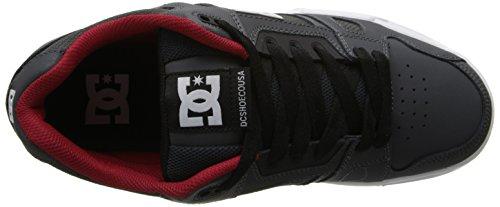 DC - Sneaker STAG, Uomo Grigio (Grau (GREY/RED - GRF))